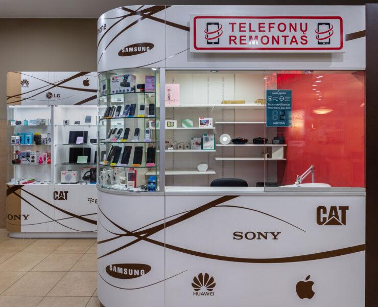 Telefonų ir kompiuterių remontas