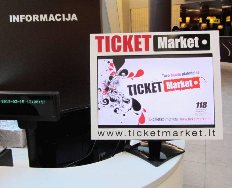 Ticket Market bilietų kasa