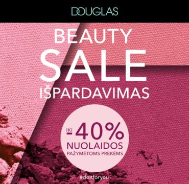 """DOUGLAS """"beauty sale"""" išpardavimas"""