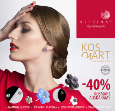 VITRINA PRO pasiūlymas Kosmart Geometrix auskarams