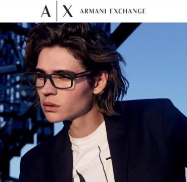 OPTIO – ARMANI EXCHANGE korekciniai akiniai tik 109 €!