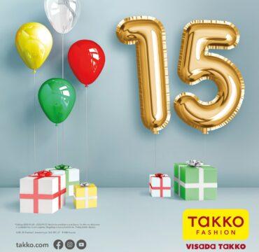Takko Fashion 15-asis jubiliejus Lietuvoje!