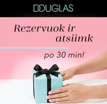 DOUGLAS – rezervuok ir atsiimk parduotuvėje!